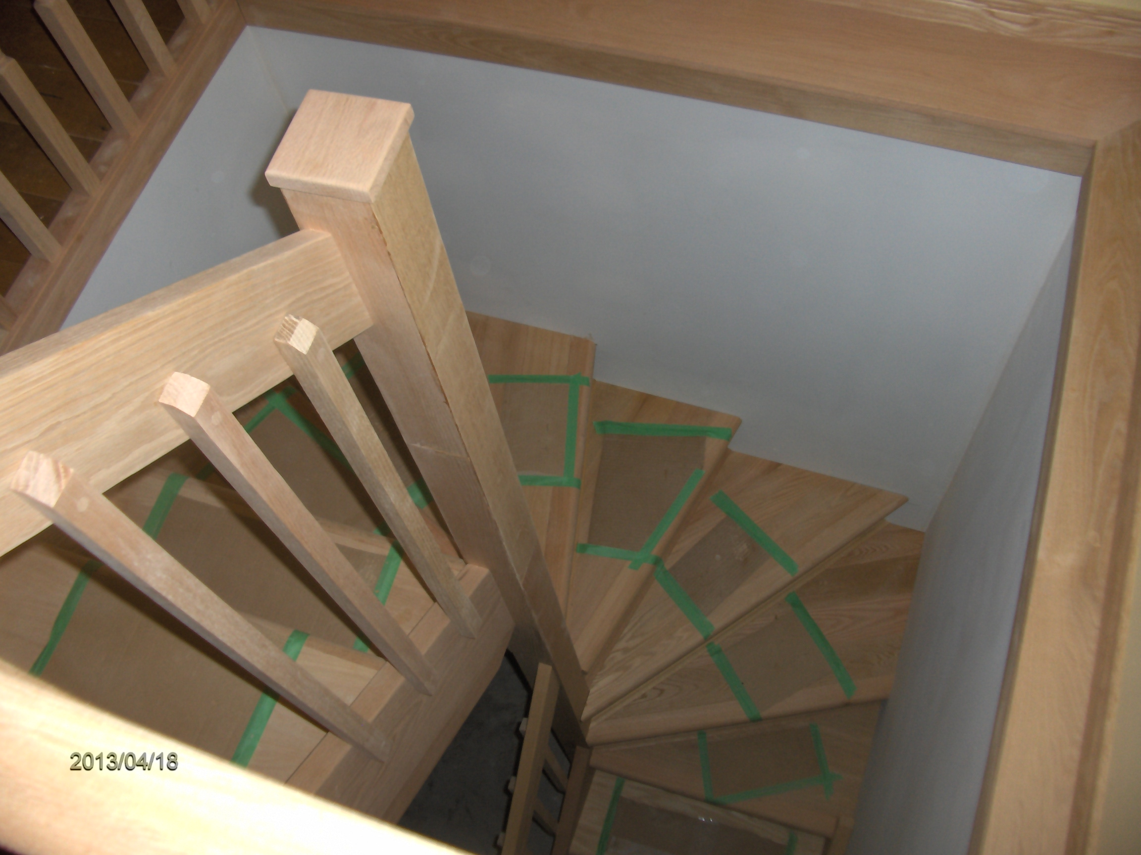 187 Flemings Winder Stairs 004 Nelson Woodcraft